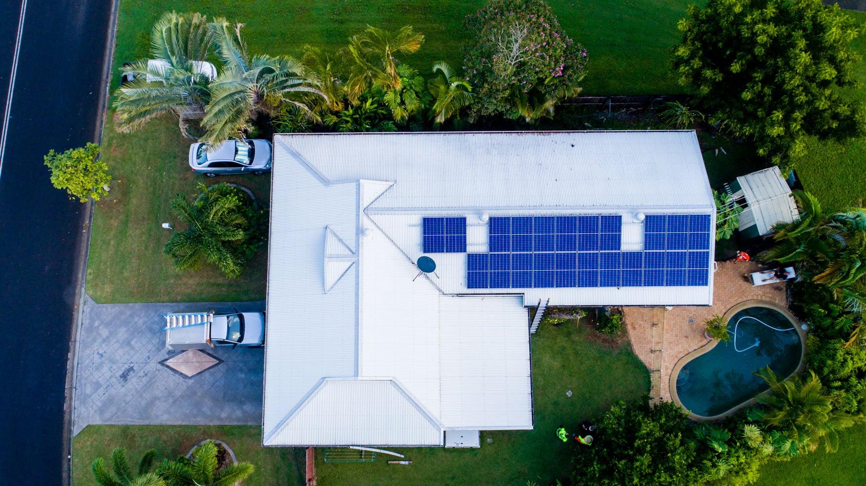 Mount Sheridan Solar System Installation