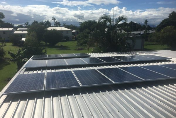 5kw solar system installed on roof at innisfail
